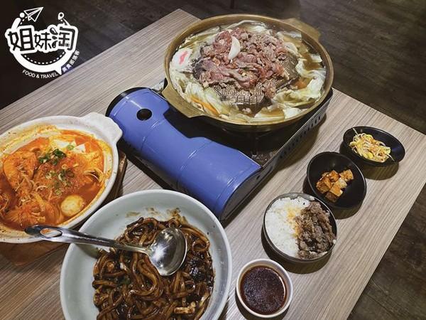 鮮嫩牛肉鋪滿銅鍋!高雄道地韓式料理 三鮮炸醬烏龍麵一吃上癮 | ETto