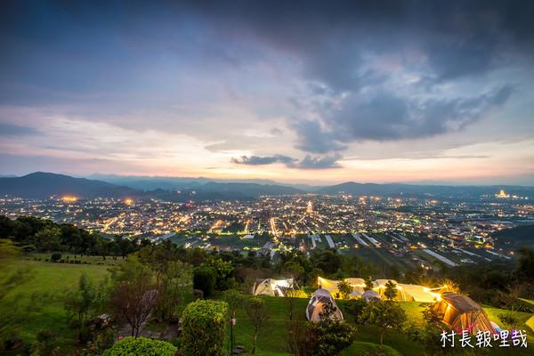坐擁百萬夜景、浪漫夕陽!南投飛行傘營區 還有超刺激高空旅行   ETto