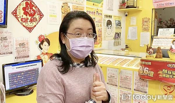 「蝴蝶飛入」異相!中壢彩券行賣出2000萬刮刮樂頭獎 老闆哭了