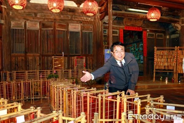 月津港藝術燈飾美翻了 黃偉哲大推元宵及228連假遊台南鹽水