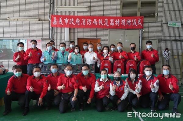 提升救護能量 王美惠攜手永嘉基金會捐助救護器材 | ETtoday地方新