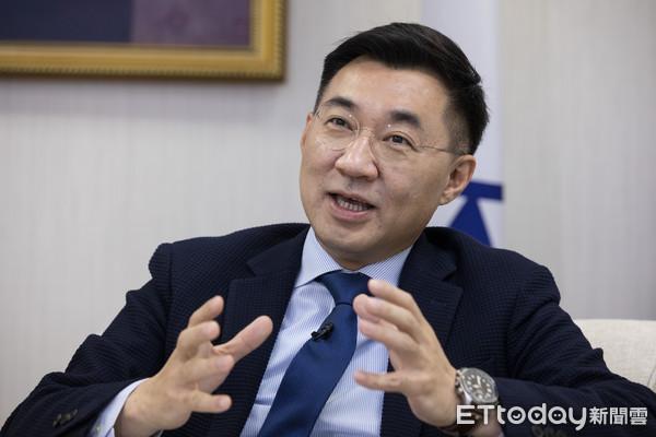 獨/江啟臣6月登記參選黨主席 「我跟韓國瑜保持直接聯繫管道」 | ETt