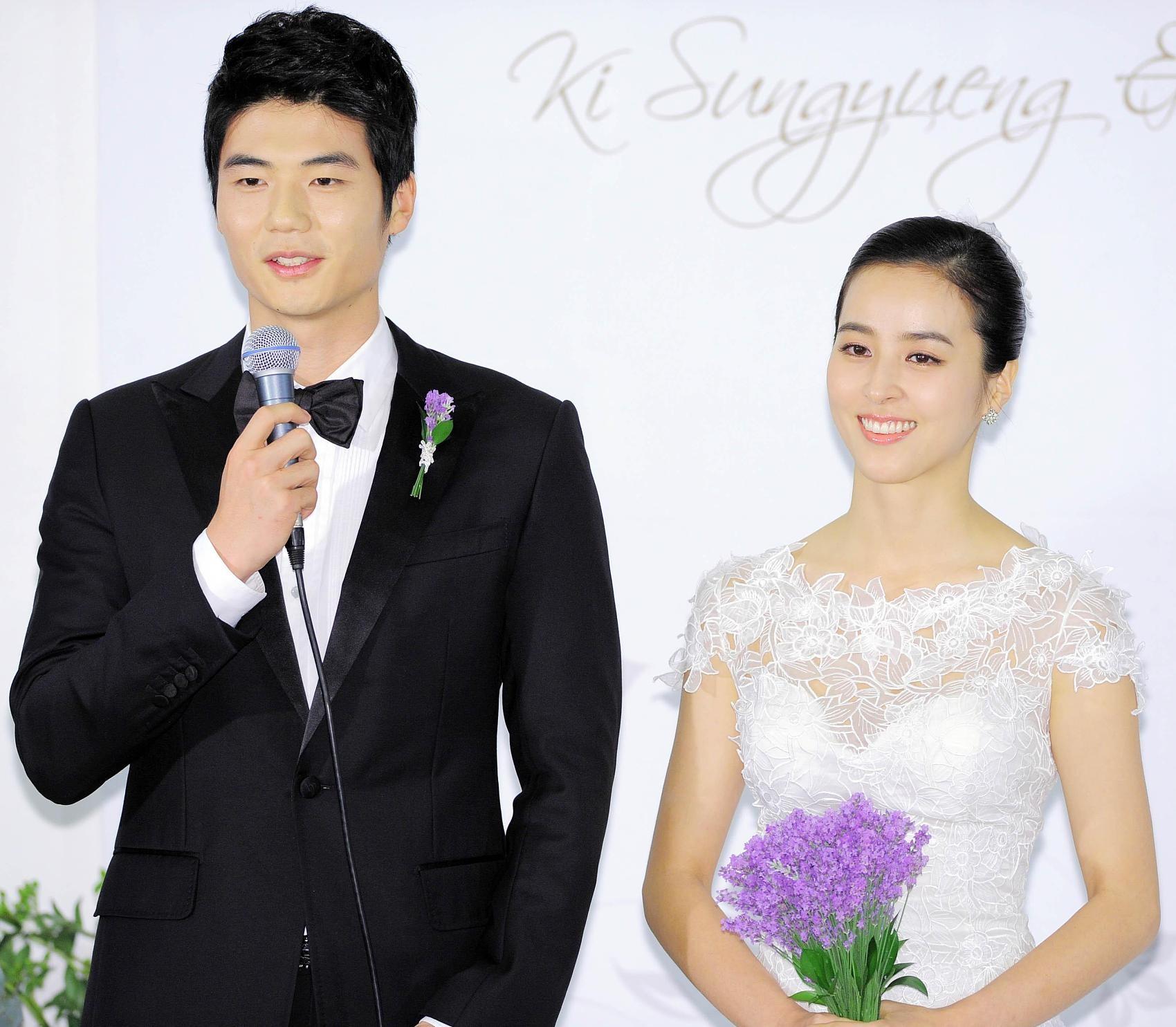 ▲▼奇誠庸2013年與知名女演員韓惠軫完婚。(圖/CFP)