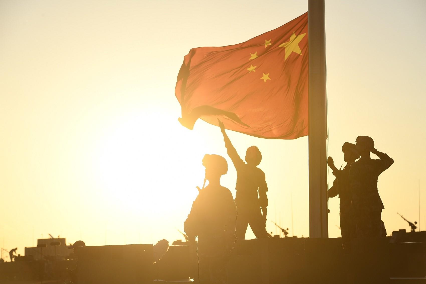 ▲▼中國軍方興建16處ICBM飛彈發射設施,圖為內蒙古朱日和基地。(圖/CFP)