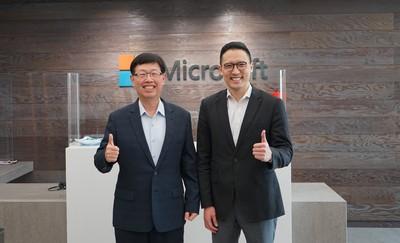 微軟與鴻海啟動三大合作 布局雲端數位轉型