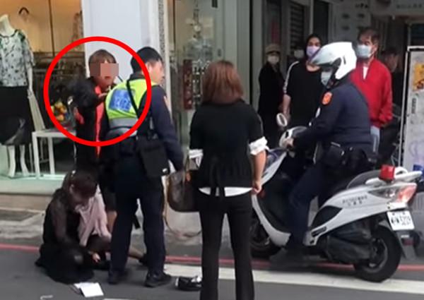 BMW貴婦腳夾警!板橋騎士團罵警「打女生」 因一雙拖鞋被肉搜找到