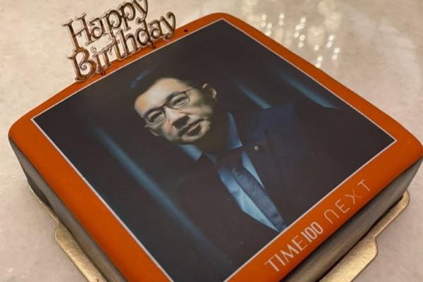 江啟臣迎來49歲生日!許願萊豬公投通過 照片蛋糕超逼真 | ETtoda