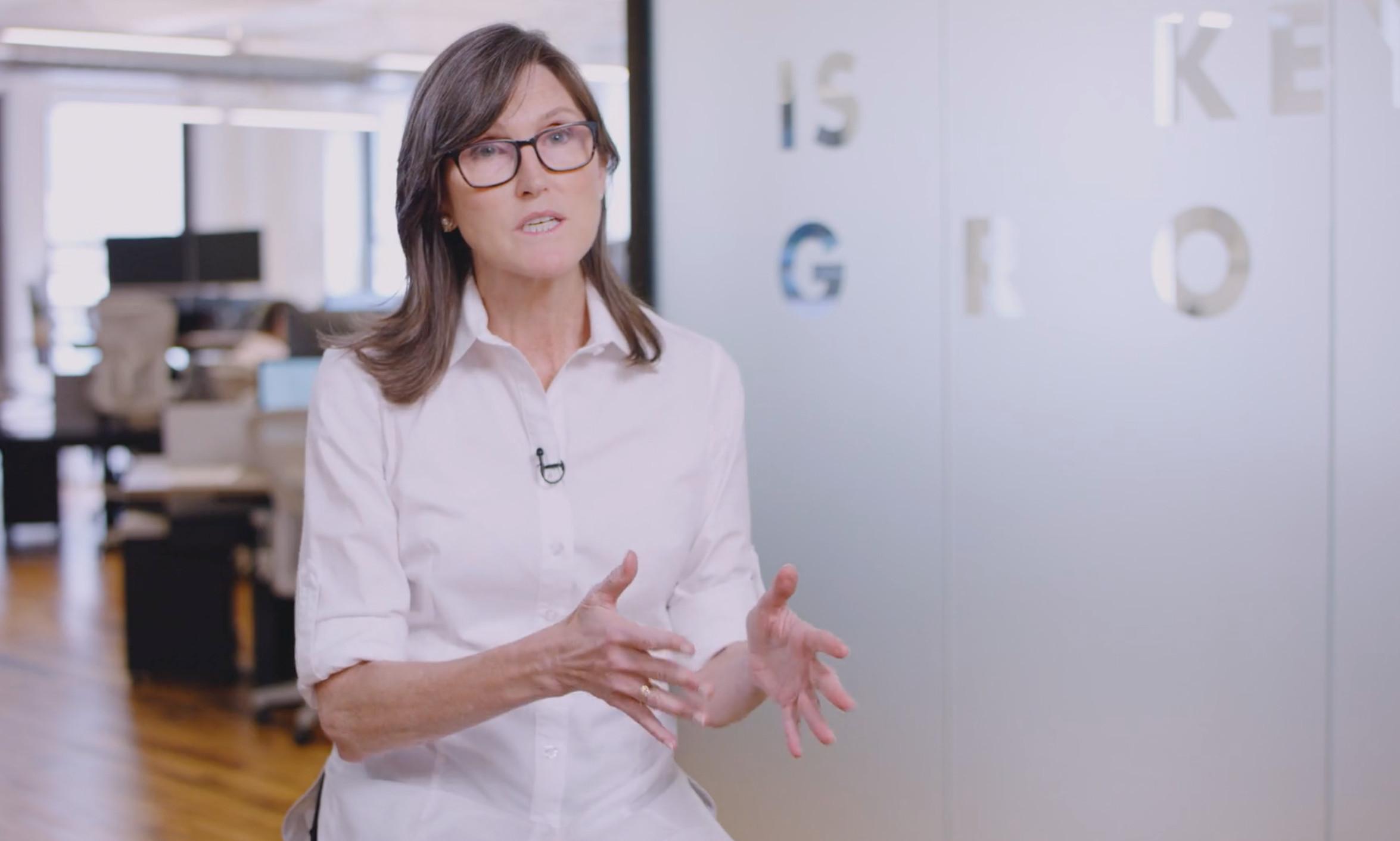 ▲方舟投資公司(ARK Invest)創辦人兼執行長伍德(Cathie Wood)。(圖/翻攝自ARK官網)