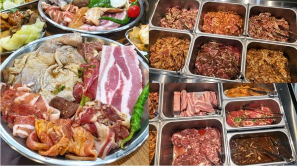 17種肉隨你嗑!台南超狂百元火烤兩吃 韓式美食+自助吧無限供應 | ET