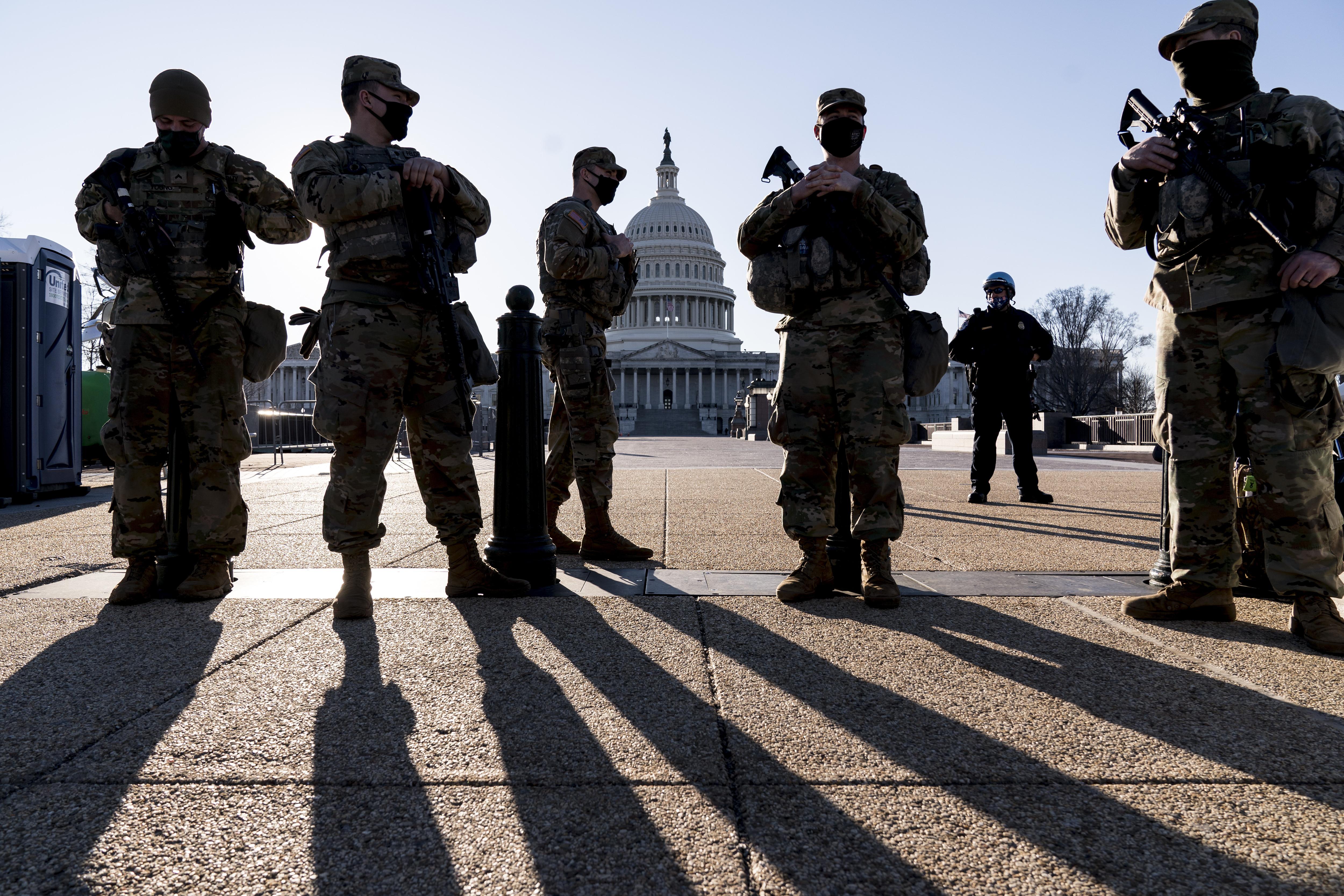 ▲▼美國國會警察局接獲情報,表示某民兵組織可能計畫4日突襲國會。(圖/達志影像/美聯社)
