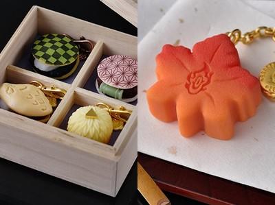 《鬼滅之刃》和菓子變飾品!裝進紫藤花木盒 夢幻指數一次噴發