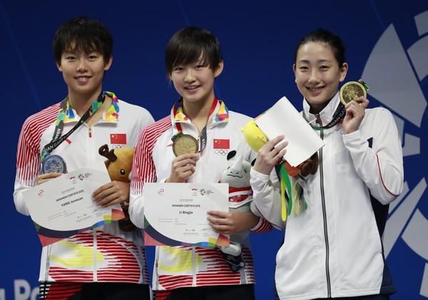 中國19歲天才女泳將再破200自亞洲紀錄 東京奧運有望衝牌