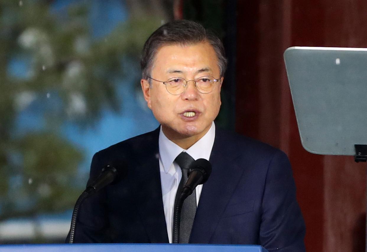 ▲▼南韓總統文在寅預計將於3月下旬、最慢4月上旬前完成第一次新冠疫苗接種。(圖/達志影像)