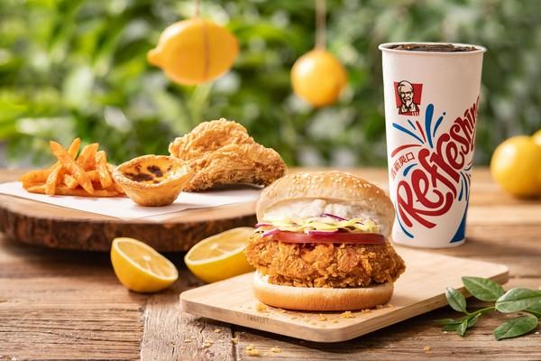 肯德基「萊姆塔塔咔啦雞腿堡」限時開賣!摩斯3款漢堡、30週年優惠 | E