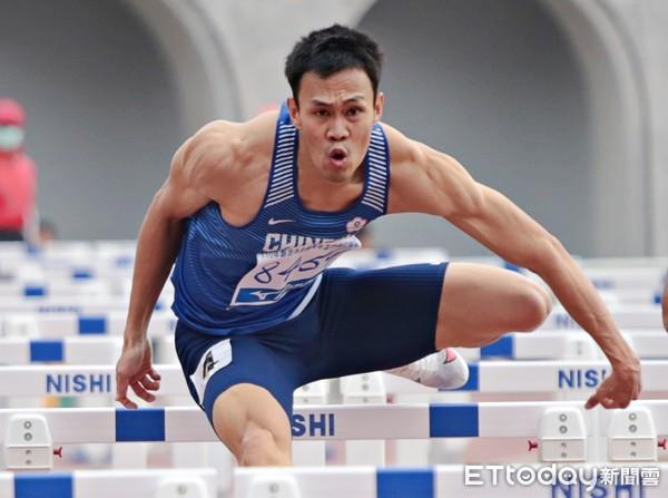 「台灣欄神」陳奎儒3日出賽東奧110欄預賽 拚破個人最佳晉級