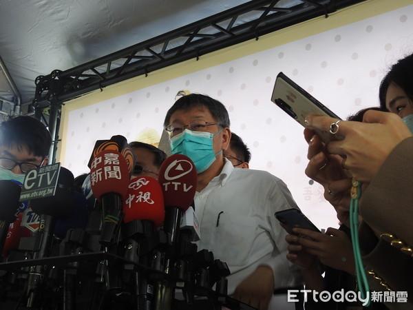 柯文哲嗆吳怡農:眼睛只有藍綠 「國家就是被這種人搞壞」 | ETtoda