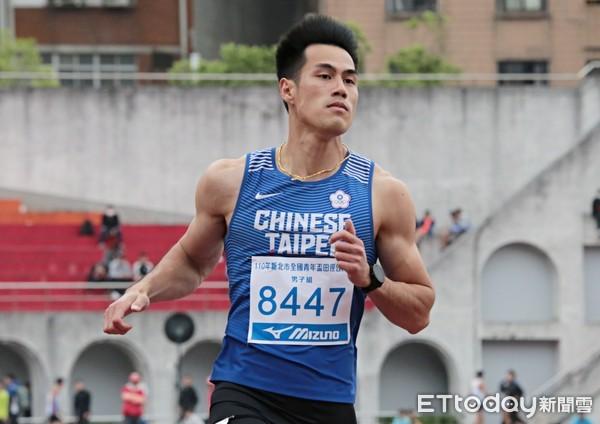 25年來我國男子100M第一人 楊俊瀚盼東奧再突破個人最佳