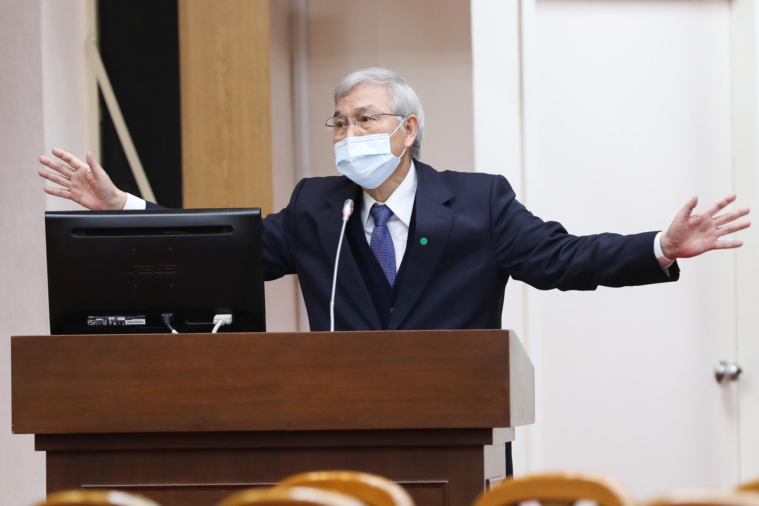 ▲中央銀行總裁楊金龍於立法院備詢。(圖/記者林敬旻攝)