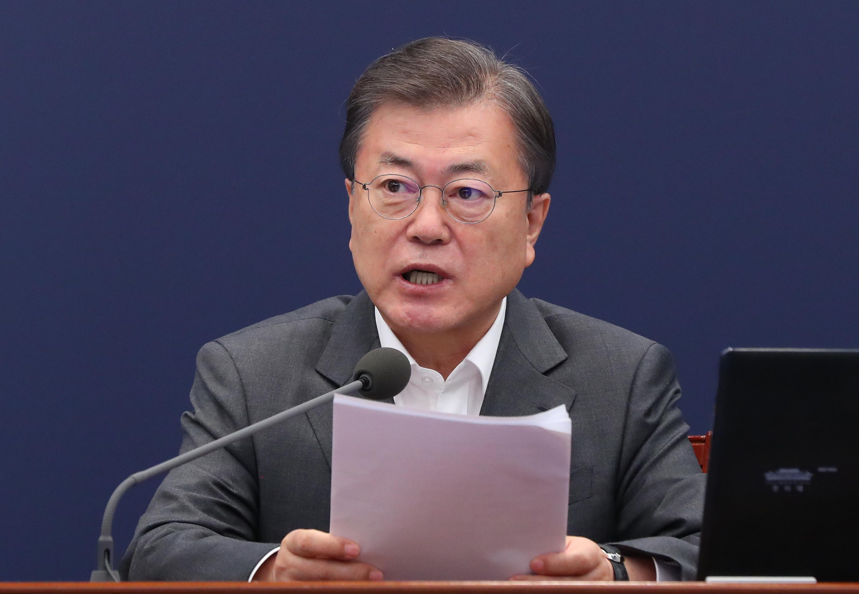 ▲▼南韓總統文在寅將預計於23日施打AZ新冠疫苗。(圖/達志影像)