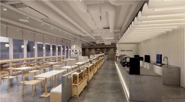 26樓高度可俯瞰城市美景 福岡冠軍咖啡店插旗台中「4月開幕」 | ETt