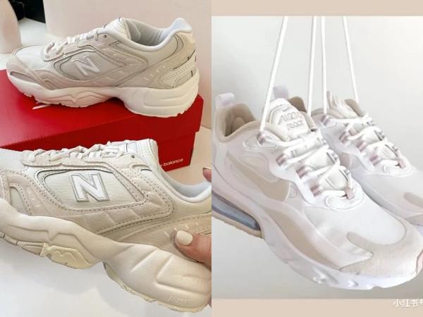 「奶茶色球鞋」推薦清單!New Balance、NIKE 6款無痛增高又