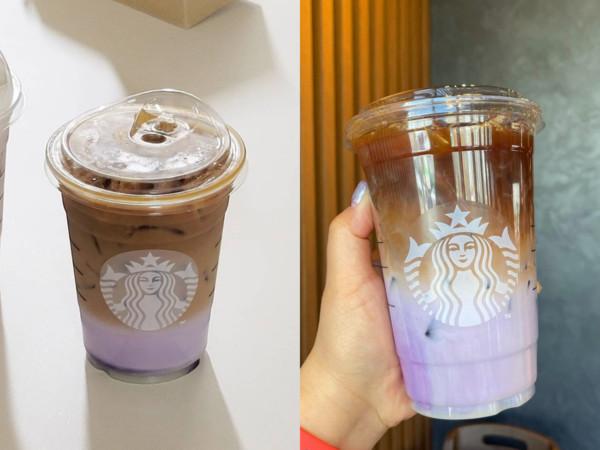 太美了!星巴克「夜櫻美式咖啡」紫色漸層讓人捨不得喝 | ET Fashi