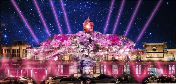 新竹變巨型光雕城!台灣燈會轉型「光臨藝術節」76件作品、5大燈區