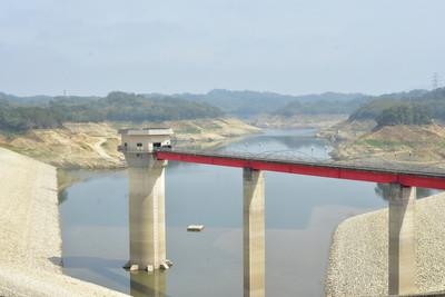 快訊/寶二水庫累計降雨量達115.2毫米!新竹解除紅燈限水有望