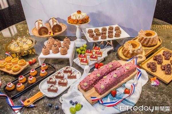 升級不加價!吃到飽南霸天甜點季開跑 12款經典法式甜點無限供應 | ET
