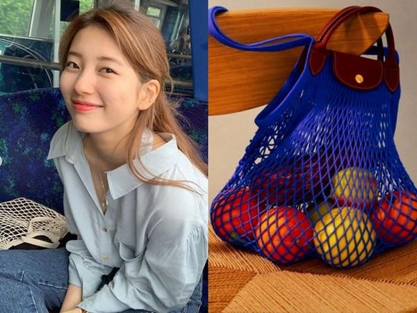 Longchamp漁網袋拎去買菜太時尚!塞滿包包不變形 這2款平價版也很