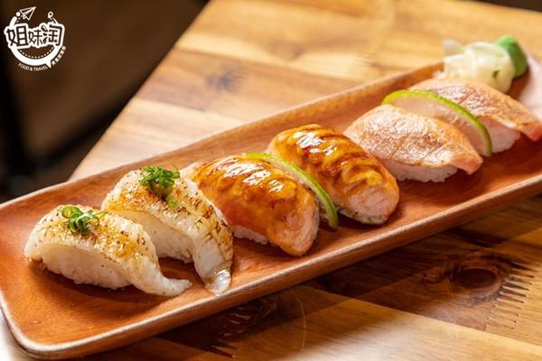 焦糖握壽司超涮嘴!高雄百貨日式料理 多樣海鮮鋪滿飯上一次滿足 | ETt
