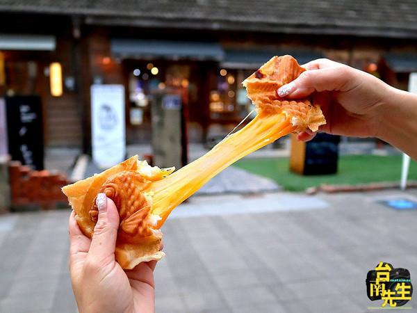 咬開炸超濃起司!台南脆皮鯛魚燒攤車 限定「川味椒麻雞」超特別   ETt