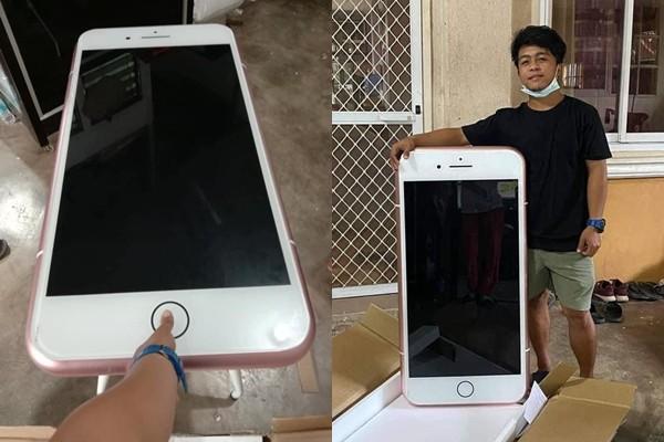 [新聞] 網購iPhone7…送來快跟人一樣高! 他拆
