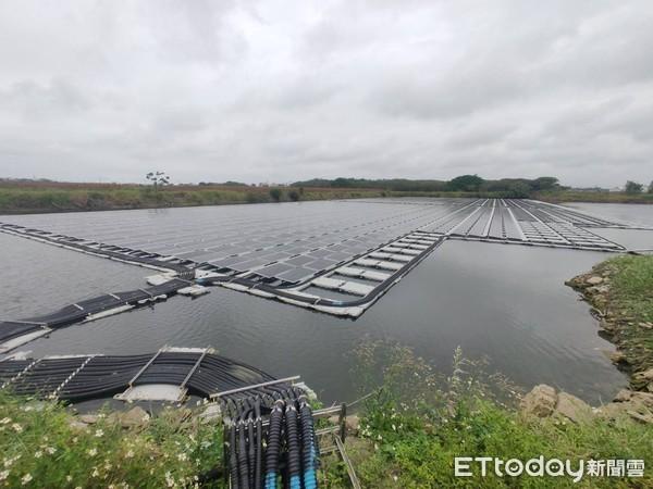南部日照集中成優勢 埤塘裝設太陽能板當「小型發電廠」 | ETtoday