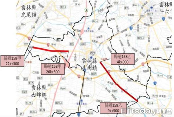 提升行車安全 雲林縣府道路改善提案獲中央補助經費1.5億   ETto