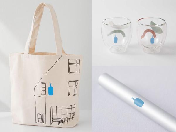 藍瓶咖啡不只飲料好喝!文青風提袋、環保吸管 5款小物也要一起打包 | E