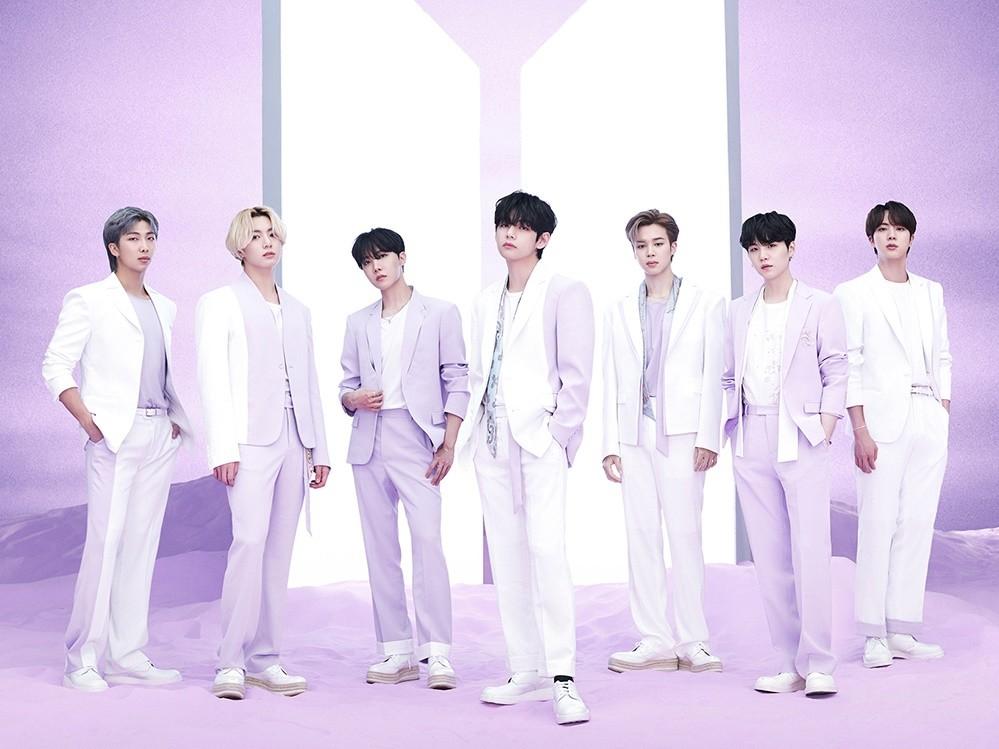 ▲BTS, BTS, back number.  (Photo courtesy of Universal Music)