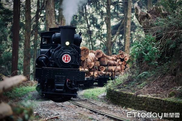 百年經典畫面重現 鐵道迷瘋狂搶拍阿里山林鐵冒汽運材 | ETtoday地