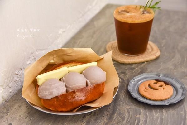 邪惡芋泥餐包+肉桂捲!台北超夯甜品店 特調氣泡咖啡質感爆棚 | ETto