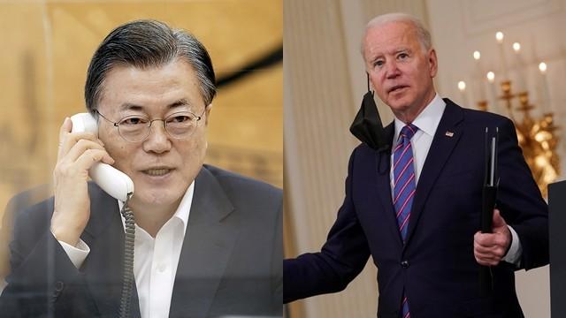 ▲▼南韓當局安排文在寅與拜登會晤,最快可於4月底前成行。(圖/路透社/達志影像)