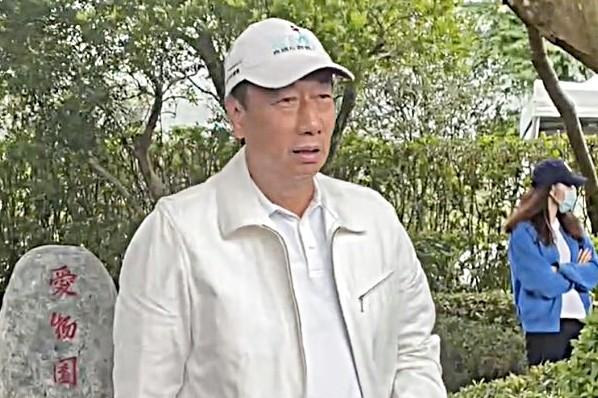▲鴻海集團創辦人郭台銘。(圖/記者陳依旻攝)