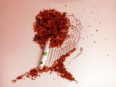 一根菸的藝術,描繪失戀男子的心情