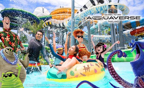 樂園控先收藏!電影主題樂園「哥倫比亞影業水世界」10月落腳泰國 | ET