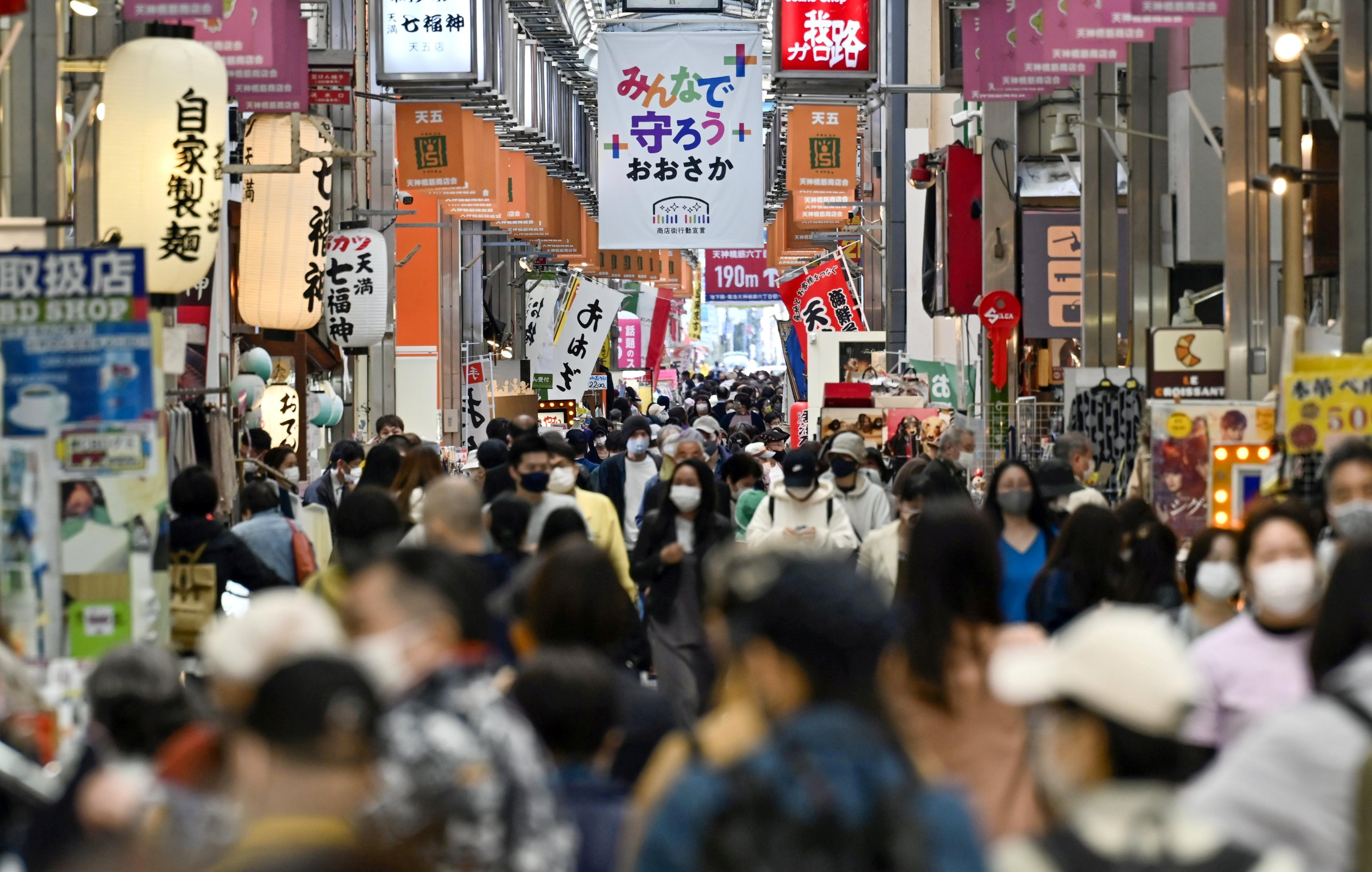▲▼日本大阪新冠疫情告急。(圖/路透社)