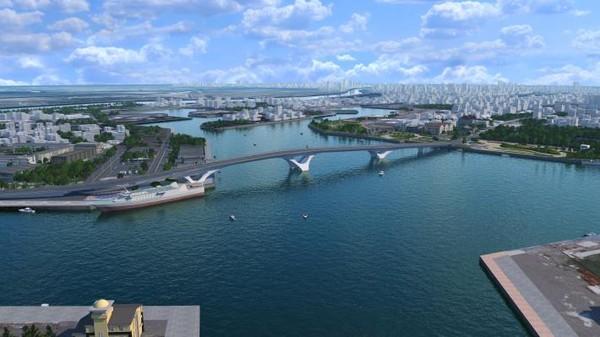 台南最新「安平跨港大橋」有觀景台 首座梯田型果菜市場9月啟用 | ETt