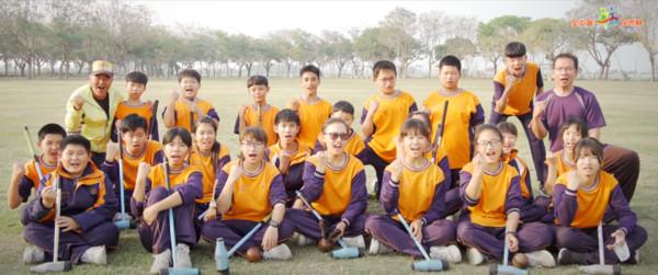 揮出夢想的挑戰者 二崙國中木球隊