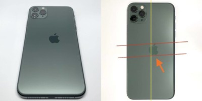 蘋果Logo歪了!打印失誤iPhone 11 Pro叫價近8萬 機率不到億分之一