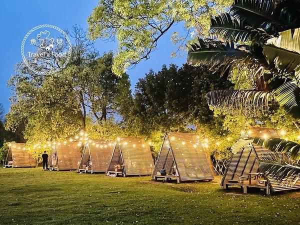 星空下燭光野餐!桃園全新浪漫三角木屋 提前半個月預約才有 | ETtod