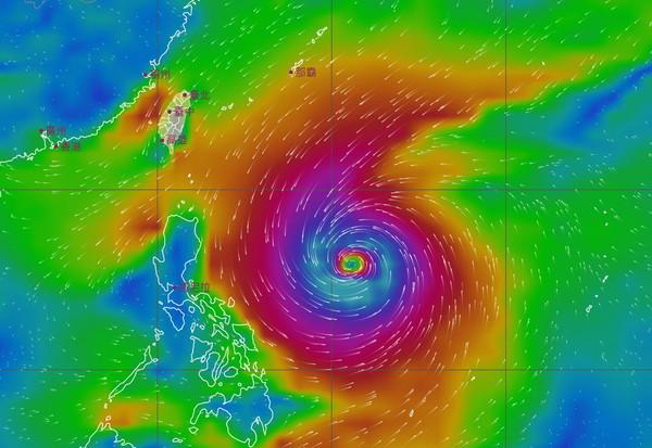 今晚變天!恐「強大颱風」最快周三生成北轉 鋒面帶雨狂掉10度