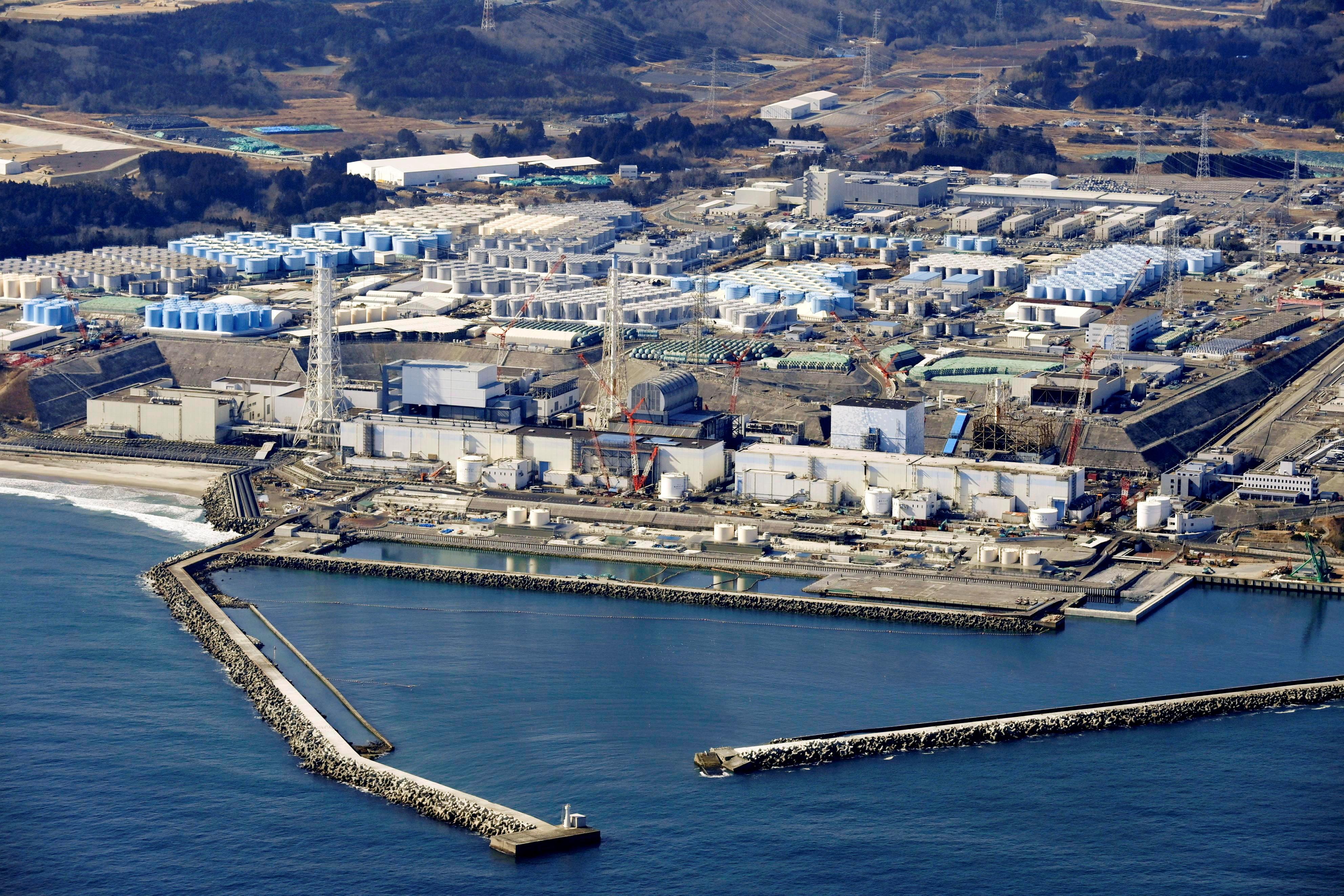 ▲▼日本政府決定將福島核電廠汙水排進大海,引發南韓、中國等強烈不滿。(圖/路透社)